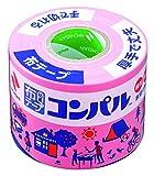 ニチバン 布テープ コンパル 50mm×10m巻 CPN11-50 ピンク