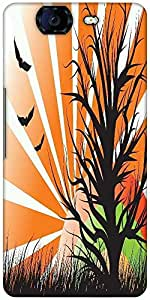 Snoogg Abstract Illustration Designer Protective Back Case Cover For Micromax Canvas Knight A350