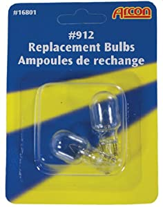 Arcon 16801 Replacement Bulb #912, (Pack of 2)