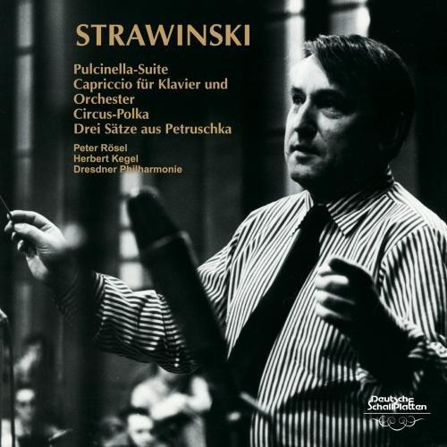 ストラヴィンスキー:バレエ組曲《プルチネルラ》、ピアノと管弦楽のためのカプリッチョ