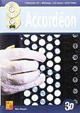 Maugain Manu Pratique De L'Accordeon En 3D Accordion Bk/Cd/Dvd French-