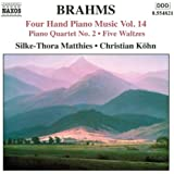 Brahms: Four-Hand Piano Music, Vol. 14