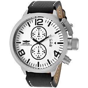 Invicta Men's 10239 Corduba Chronograph White Dial Watch