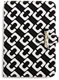 Diane von Furstenberg Limited Edition Kayley Canvas Clutch for Kindle (Fits Kindle Keyboard) Chain Link Black