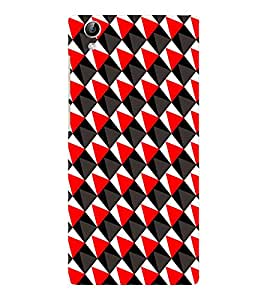 EPICCASE traingle Mobile Back Case Cover For Vivo Y51 (Designer Case)