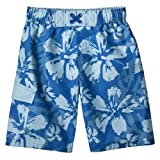 Boys' Swimwear Mossimo Supply Co. Blue Splatter Hibiscus Swim Shorts