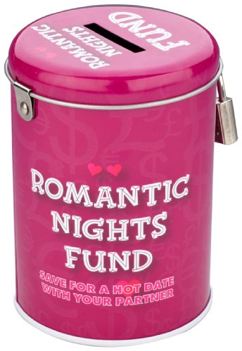 Boxer Gifts Saver Tins, Romantic Nights Fund