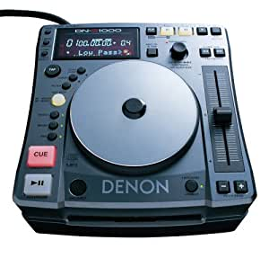 denon dn s1000 scratch dj table top dj cd and mp3 player musical instruments. Black Bedroom Furniture Sets. Home Design Ideas