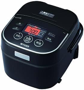 タイガー IH炊飯器 「炊きたて」 tacook 3合 ブラック JKU-A550-K