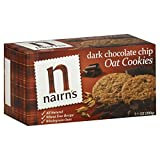Nairn's Dark Chocolate Oat Biscuits 201 g (Pack of 12)