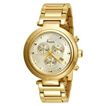 Freelook Unisex HA1136CHMG-3 Cortina Gold Chronograph Watch