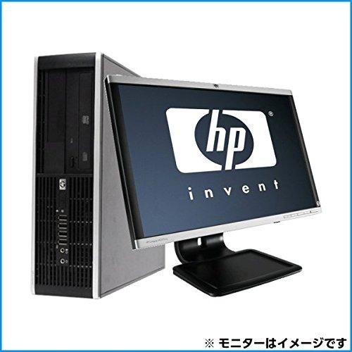 [中古パソコン][デスクトップ液晶セット] 22インチワイド超大画面液晶セット HP Compaq 8000 Elite SFF Core2Duo デュアルコア 2.93GHz 4GBメモリ 160GBハードディスク DVDスーパーマルチ Windows7Pro キングソフトオフィス2013付属