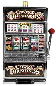 1 4 Sheet Crazy Diamonds Slot Machine Birthday Edible