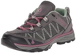 Vasque Women\'s Monolith Low Hiking Shoe, Magnet/Damson, 9 M US