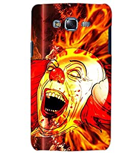 PrintDhaba FIRE JOKER D-6225 Back Case Cover for SAMSUNG GALAXY J5 (Multi-Coloured)