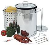 Bayou Classic 1118 32-Quart Stainless Steel Turkey Fryer on sale