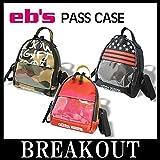 eb's HIBACK PASS パスケース チケットホルダー ハイバック スノーボード STAR-STRIPES