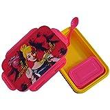 Disney Cinderella Plastic Lunch Box Set, 800ml, Set Of 4, Multicolor