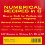Numerical Recipes in C 3.5 Inch Diske...