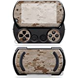 Mightyskins Protective Vinyl Skin Decal Cover for Sony PSP Go System wrap sticker skins Desert Camo