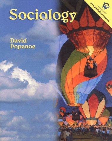 Sociology (11th Edition), by David Popenoe