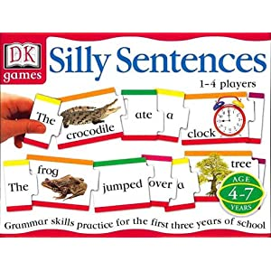 Click to buy Reading Games for Kids:  DK Games: Silly Sentences from Amazon!