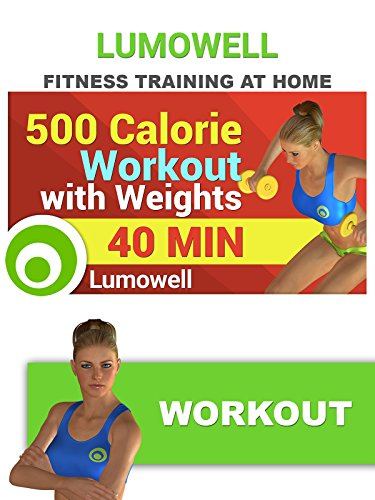 500 Calorie Workout with Weights