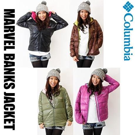 Columbia / コロンビア / ダウン ジャケット ジャケット  レディース  PL5389  ウィメンズ マーベルバンクスジャケット  WOMEN\'S MARVEL BANKS JACKET 女性用Sカーキ(355)