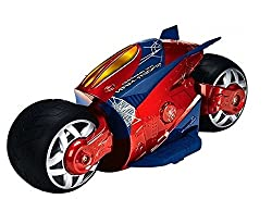 The Flyer's Bay Cyber Bike with Super Speed and Drift Function - Spiderman Edition (Spiderman Edition)