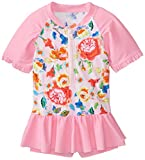 Seafolly Big Girls' Roses Are Pink Playsuit