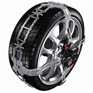 Thule K-Summit Low-Profile Passenger Car Snow Chain, Size K23 (Sold in pairs)