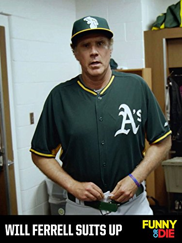Will Ferrell Suits Up