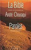echange, troc André Chouraqui, Bible. A. T. Pentateuque. Français. Chouraqui. 1992 - La Bible : Tora, tome 5 : Paroles, Deutéronome