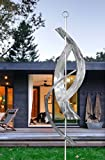 Silver Maritime Massive - Large Abstract Metal Sculpture by Jon Allen