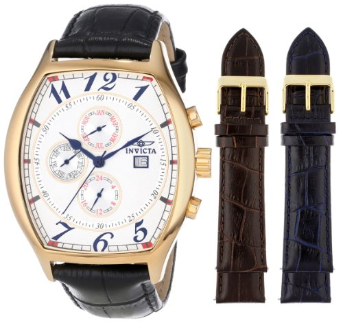 invicta-mens-14330-specialty-18k-yellow-gold-plated-watch-with-three-interchangeable-leather-bands