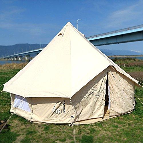 「ノルディスク」のテントがおしゃれ!