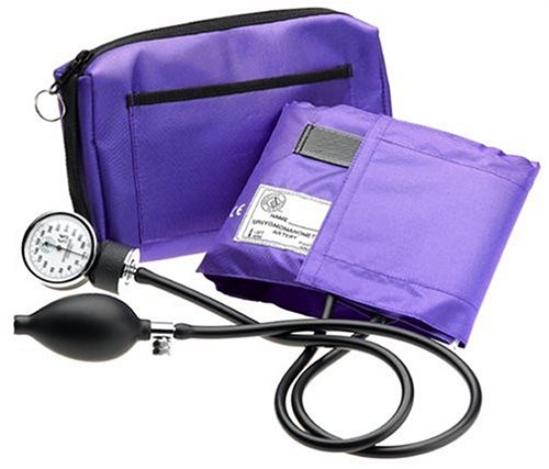 Prestige Aneroid Sphygmomanometer with Matching Purple Carrying Case (Blood Pressure Monitor Holder compare prices)