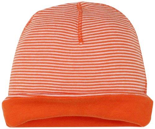 Splendid Littles Baby-Girls Newborn Reversible Mini Stripe Solid, Flame, One Size front-984753