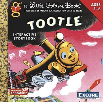 Golden Books: Tootle the Train (Jewel Case)