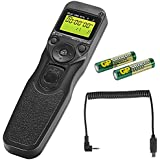 Neewer® MC-N3 Time Lapse Intervalometer Timer Remote Control Shutter with N3 Cable for Nikon D90 D600 D3100 D3200 D5000 D5100 D7000
