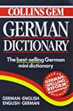 Collins Gem German Dictionary: German-English/English-German (0004723570) by Harper Collins