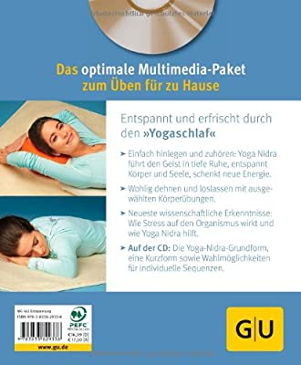 Yoga Nidra (mit CD): Die Yoga-Tiefenentspannung (GU Multimedia)