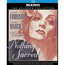 Nothing Sacred: Kino Classics Edition [Blu-ray]