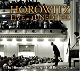 Horowitz Live and Unedited [includes Bonus DVD]