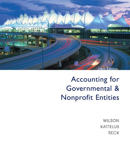 Accounting for Governmental and Nonprofit Entities with City of Smithville