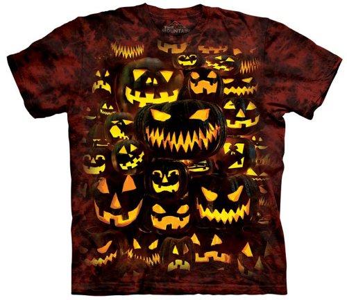 The Mountain Men's Jack O Lantern Wall T-shirt