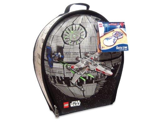 Neat-Oh! LEGO Star Wars ZipBin Death Star Transforming Toybox - 1