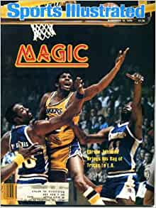 "Sports Illustrated November 19 1979 Earvin ""Magic"" Johnson"