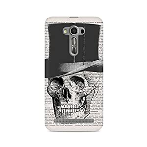Mobicture Skull Abstract Premium Printed Case For Asus Zenfone Selfie