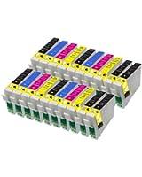 20 Compatibles Epson18 XL cartouches d'encre pour Epson Expression XP102 XP202 XP212 XP215 XP205 XP30 XP302 XP305 XP312 XP315 XP402 XP412 XP415 XP405 Imprimantes
